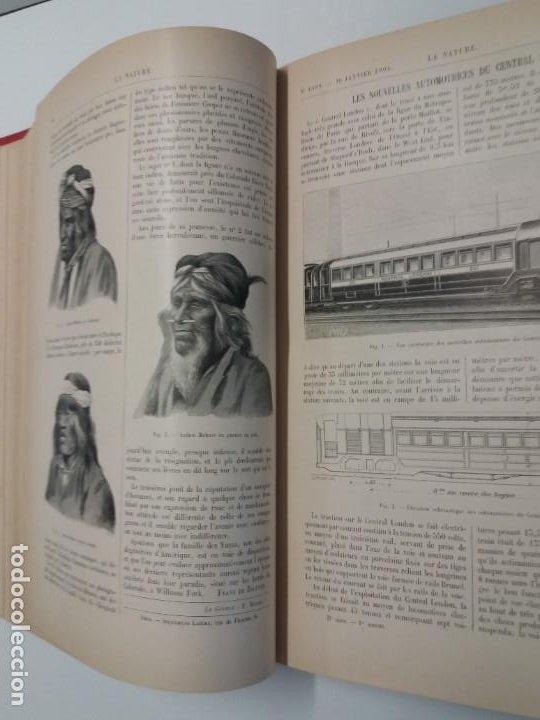Libros antiguos: LIBRO LA NATURE, REVISTA DE CIENCIAS, 1904, PRECIOSA ENCUADERNACION - Foto 20 - 193210763