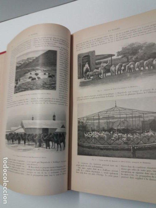 Libros antiguos: LIBRO LA NATURE, REVISTA DE CIENCIAS, 1904, PRECIOSA ENCUADERNACION - Foto 21 - 193210763