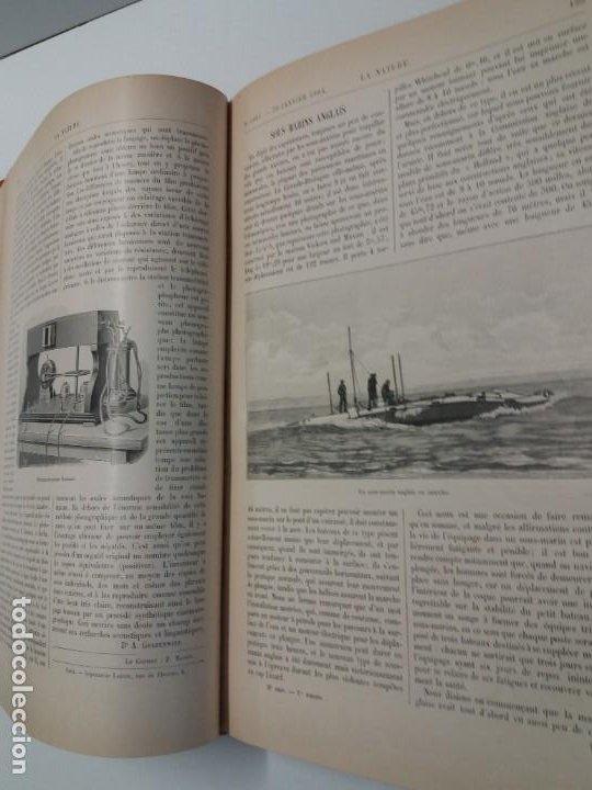 Libros antiguos: LIBRO LA NATURE, REVISTA DE CIENCIAS, 1904, PRECIOSA ENCUADERNACION - Foto 22 - 193210763