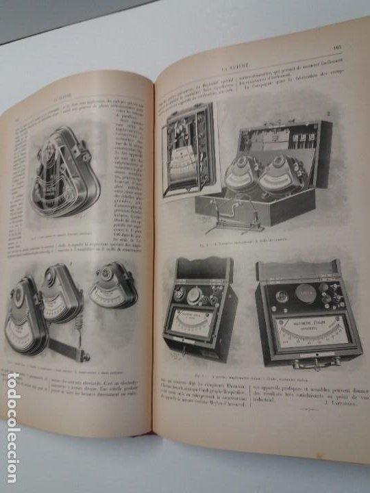 Libros antiguos: LIBRO LA NATURE, REVISTA DE CIENCIAS, 1904, PRECIOSA ENCUADERNACION - Foto 27 - 193210763