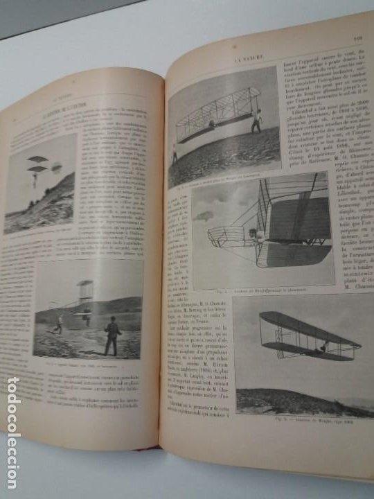 Libros antiguos: LIBRO LA NATURE, REVISTA DE CIENCIAS, 1904, PRECIOSA ENCUADERNACION - Foto 28 - 193210763
