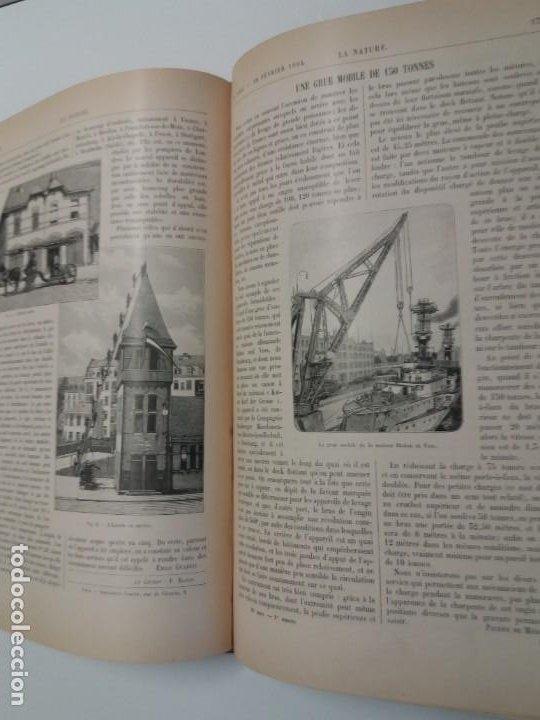 Libros antiguos: LIBRO LA NATURE, REVISTA DE CIENCIAS, 1904, PRECIOSA ENCUADERNACION - Foto 29 - 193210763