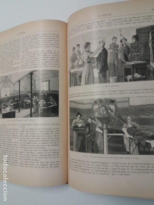Libros antiguos: LIBRO LA NATURE, REVISTA DE CIENCIAS, 1904, PRECIOSA ENCUADERNACION - Foto 30 - 193210763