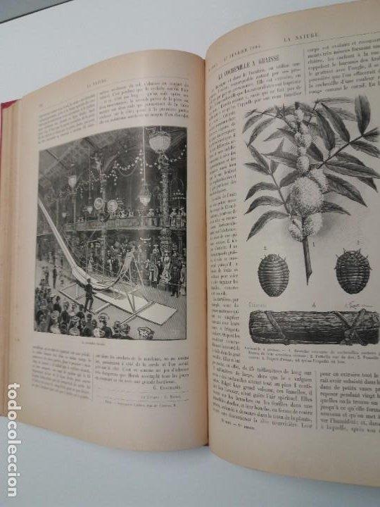 Libros antiguos: LIBRO LA NATURE, REVISTA DE CIENCIAS, 1904, PRECIOSA ENCUADERNACION - Foto 31 - 193210763