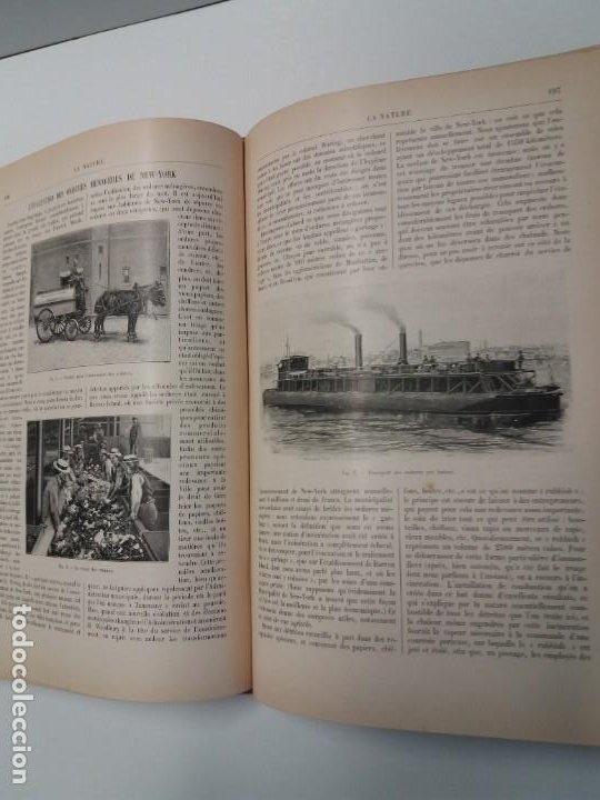 Libros antiguos: LIBRO LA NATURE, REVISTA DE CIENCIAS, 1904, PRECIOSA ENCUADERNACION - Foto 32 - 193210763