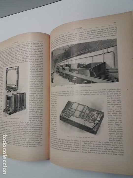 Libros antiguos: LIBRO LA NATURE, REVISTA DE CIENCIAS, 1904, PRECIOSA ENCUADERNACION - Foto 33 - 193210763