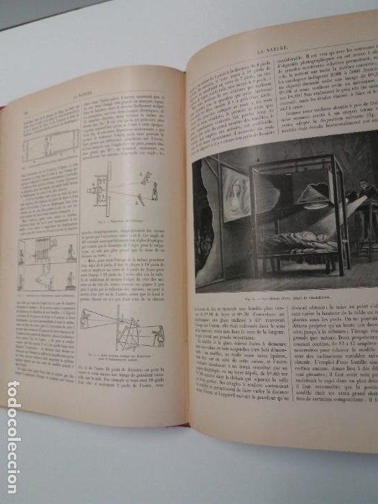 Libros antiguos: LIBRO LA NATURE, REVISTA DE CIENCIAS, 1904, PRECIOSA ENCUADERNACION - Foto 35 - 193210763