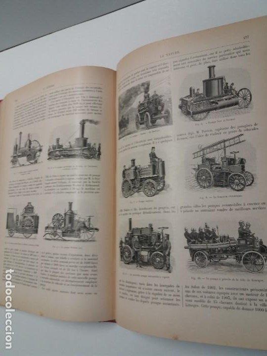 Libros antiguos: LIBRO LA NATURE, REVISTA DE CIENCIAS, 1904, PRECIOSA ENCUADERNACION - Foto 36 - 193210763
