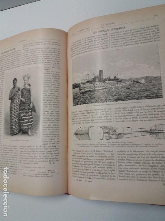 Libros antiguos: LIBRO LA NATURE, REVISTA DE CIENCIAS, 1904, PRECIOSA ENCUADERNACION - Foto 37 - 193210763