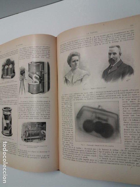 Libros antiguos: LIBRO LA NATURE, REVISTA DE CIENCIAS, 1904, PRECIOSA ENCUADERNACION - Foto 38 - 193210763