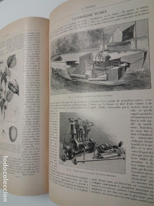 Libros antiguos: LIBRO LA NATURE, REVISTA DE CIENCIAS, 1904, PRECIOSA ENCUADERNACION - Foto 41 - 193210763