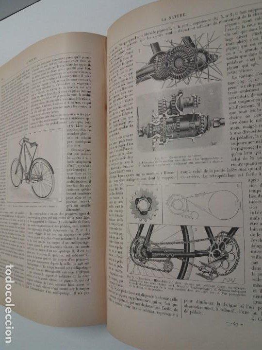 Libros antiguos: LIBRO LA NATURE, REVISTA DE CIENCIAS, 1904, PRECIOSA ENCUADERNACION - Foto 43 - 193210763
