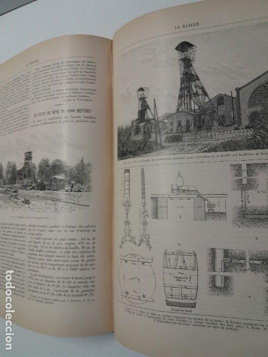 Libros antiguos: LIBRO LA NATURE, REVISTA DE CIENCIAS, 1904, PRECIOSA ENCUADERNACION - Foto 44 - 193210763