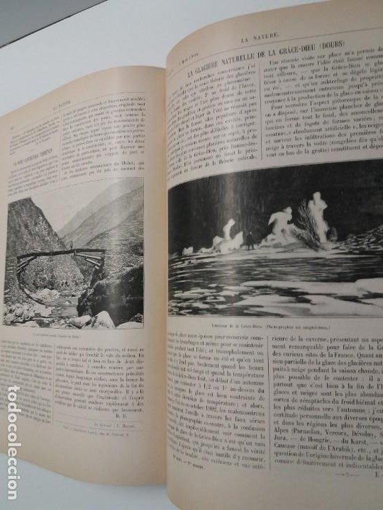 Libros antiguos: LIBRO LA NATURE, REVISTA DE CIENCIAS, 1904, PRECIOSA ENCUADERNACION - Foto 45 - 193210763
