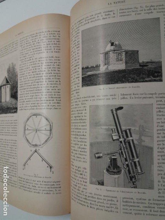 Libros antiguos: LIBRO LA NATURE, REVISTA DE CIENCIAS, 1904, PRECIOSA ENCUADERNACION - Foto 46 - 193210763