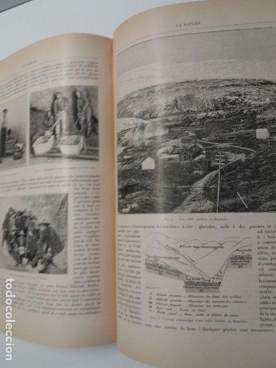 Libros antiguos: LIBRO LA NATURE, REVISTA DE CIENCIAS, 1904, PRECIOSA ENCUADERNACION - Foto 47 - 193210763