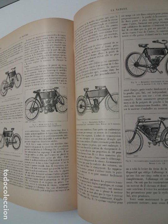 Libros antiguos: LIBRO LA NATURE, REVISTA DE CIENCIAS, 1904, PRECIOSA ENCUADERNACION - Foto 48 - 193210763