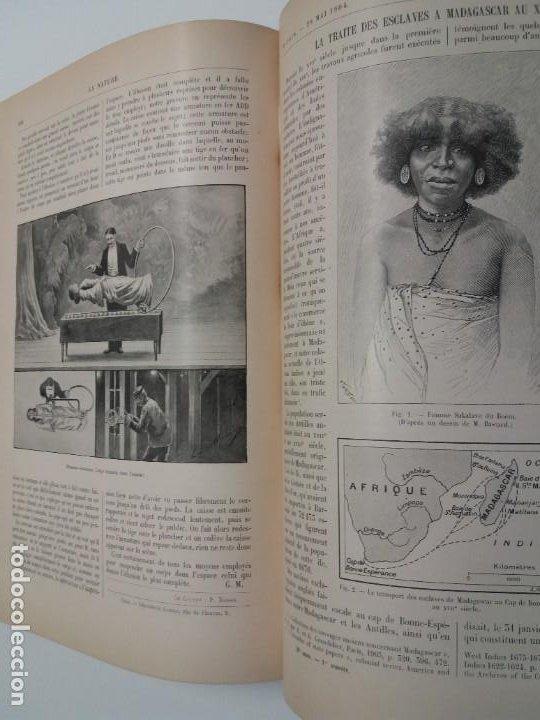 Libros antiguos: LIBRO LA NATURE, REVISTA DE CIENCIAS, 1904, PRECIOSA ENCUADERNACION - Foto 49 - 193210763