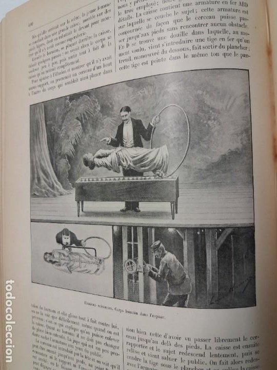 Libros antiguos: LIBRO LA NATURE, REVISTA DE CIENCIAS, 1904, PRECIOSA ENCUADERNACION - Foto 50 - 193210763