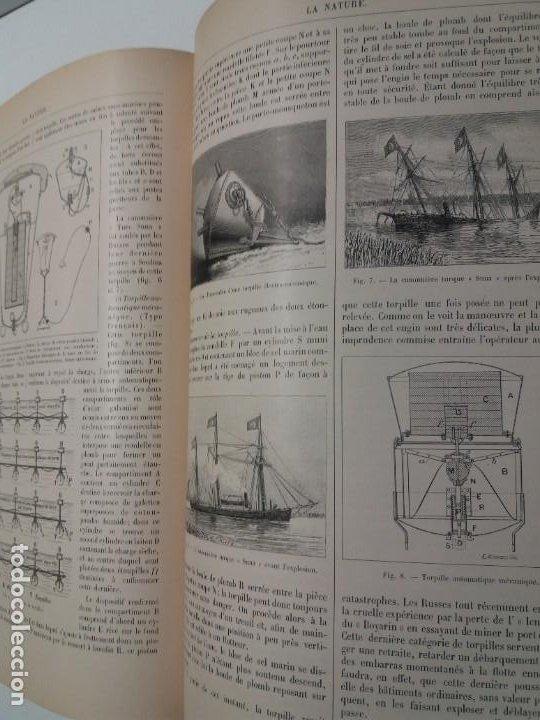 Libros antiguos: LIBRO LA NATURE, REVISTA DE CIENCIAS, 1904, PRECIOSA ENCUADERNACION - Foto 51 - 193210763