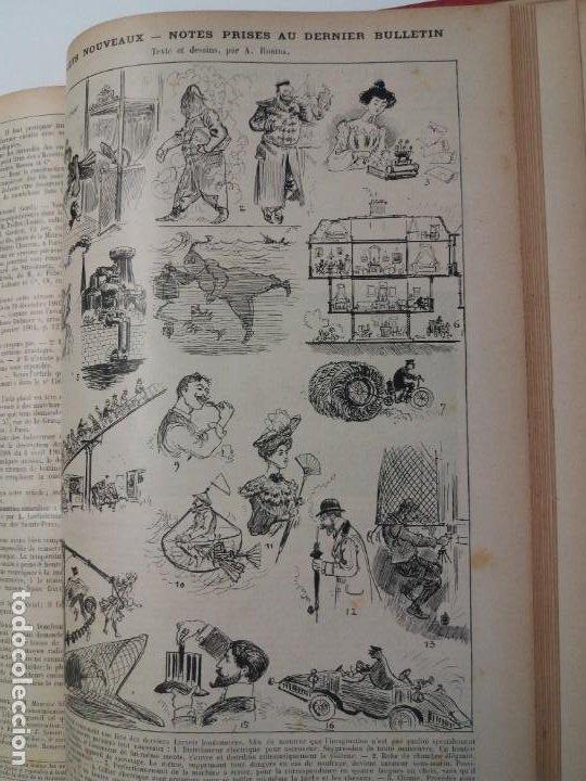 Libros antiguos: LIBRO LA NATURE, REVISTA DE CIENCIAS, 1904, PRECIOSA ENCUADERNACION - Foto 59 - 193210763