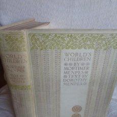 Libros antiguos: WORLD'S CHILDREN 1903. Lote 193270577