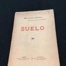Libros antiguos: SEBASTIÁN GOMILA. SUELO. DEDICATORIA AUTÓGRAFA. MADRID / BARCELONA, C.1890. 1ª EDICIÓN.. Lote 193292307