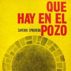 Livros antigos: QUÉ HAY EN EL POZO - SPROVERA, SAVERIO. Lote 193524607