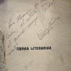 Libri antichi: OBRAS LITERARIAS: TEATRO, VERSO, PROSA - ORREGO VICUÑA, BENJAMÍN (1897 - 1921). Lote 193534745