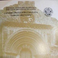Livres anciens: LA PORTADA OCCIDENTAL DE SANTA MARIA D AGRAMUNT.FRANCESC FITE. I ESTUDIS ILERDENCS.LLEIDA1984. Lote 193553351