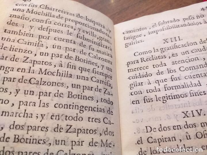 Libros antiguos: Ordenanza de Compañías provinciales de Artilleros, Bombarderos y Minadores de orden de S. M. - Foto 5 - 29452471