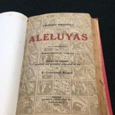 Libros antiguos: SANTIAGO VINARDELL. ALELUYAS. GRABADOS ORIGINALES AL BOJ POR E.- CRISTÓBAL RICART. DED. AUTÓG. 1919.. Lote 193611587