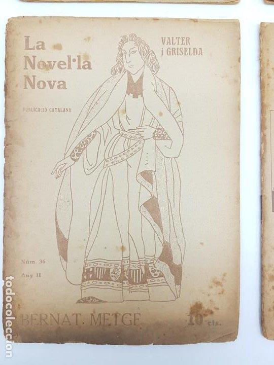 Libros antiguos: LOTE DE 4 NOVELAS ( PUBLICACIÓ CATALANA ) LA NOVEL.LA NOVA ( PUBLICIDAD ) - Foto 2 - 193628598
