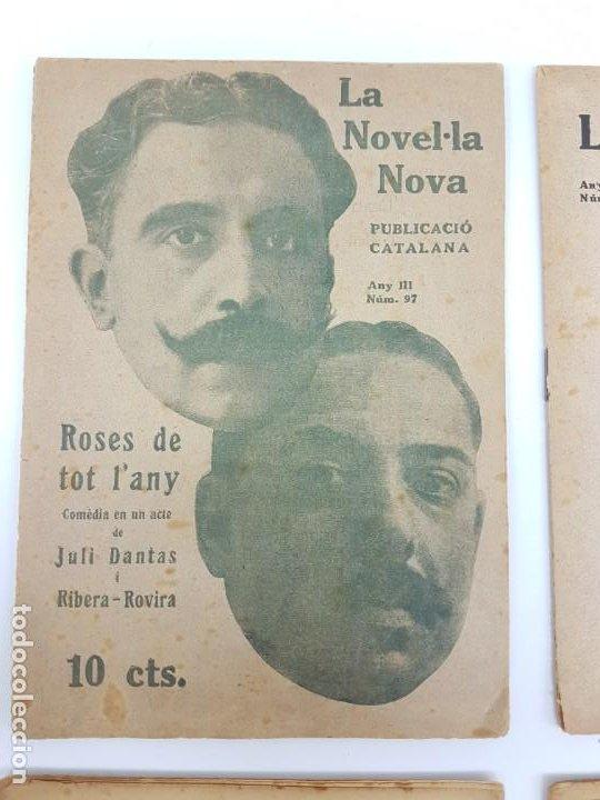 Libros antiguos: LOTE DE 4 NOVELAS ( PUBLICACIÓ CATALANA ) LA NOVEL.LA NOVA ( PUBLICIDAD ) - Foto 4 - 193628598