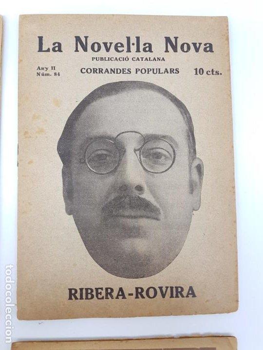 Libros antiguos: LOTE DE 4 NOVELAS ( PUBLICACIÓ CATALANA ) LA NOVEL.LA NOVA ( PUBLICIDAD ) - Foto 5 - 193628598