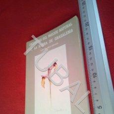 Libros antiguos: TUBAL ORQUIDEAS DEL PARQUE NATURAL DE LA SIERRA DE GRAZALEMA LUIS VELASCO U21. Lote 193658951