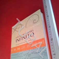Libros antiguos: TUBAL LOS SECRETOS DEL INFINITO LAS RESPUESTAS AL ENIGMA ANTONIO LAMUA U21. Lote 193659651