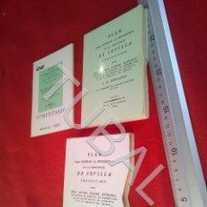Libros antiguos: TUBAL PLAN PARA FORMAR LA ESTADISTICA DE LA PROVINCIA DE SEVILLA FACSIMIL U21. Lote 193660078
