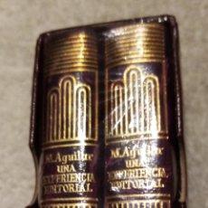Libros antiguos: CRISOLIN 36 BIS LUJO UNA EXPERIENCIA EDITORIAL. LU. Lote 193684952