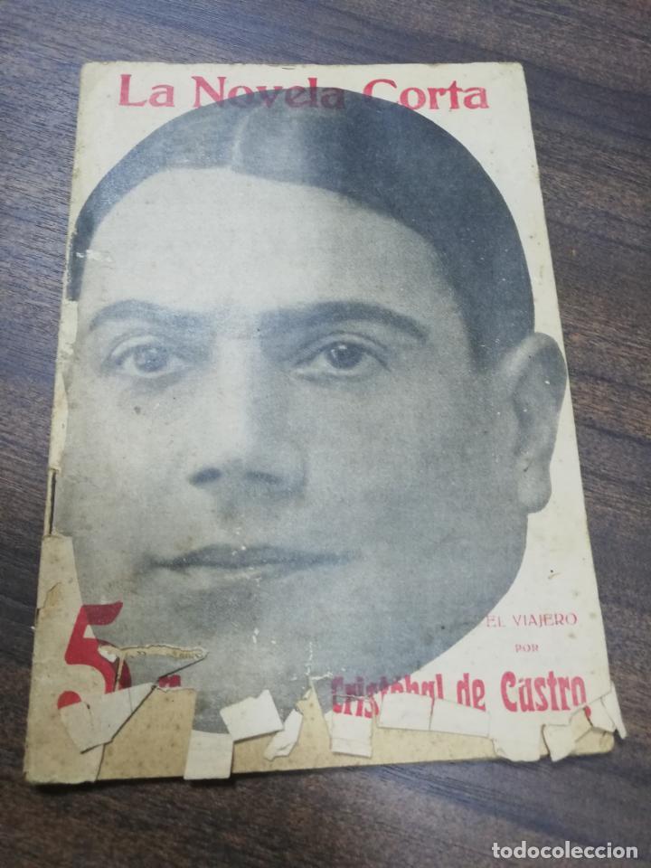 EL VIAJERO. CRISTOBAL CASTRO. LA NOVELA CORTA. AÑO I. SEPTIEMBRE 1916. Nº 39. (Libros antiguos (hasta 1936), raros y curiosos - Literatura - Narrativa - Otros)