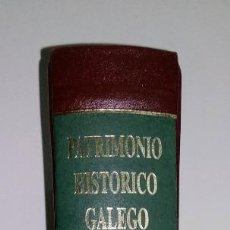 Libros antiguos: LIBRO SANTIAGO DE COMPOSTELA PATRIMONIO HISTORICO GALEGO CIDADES. Lote 193730661
