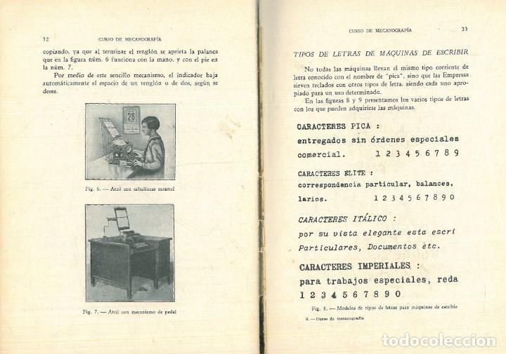 Libros antiguos: CURSO DE MECANOGRAFÍA. (KUHNEL PORTA, Javier). - Foto 5 - 192231065