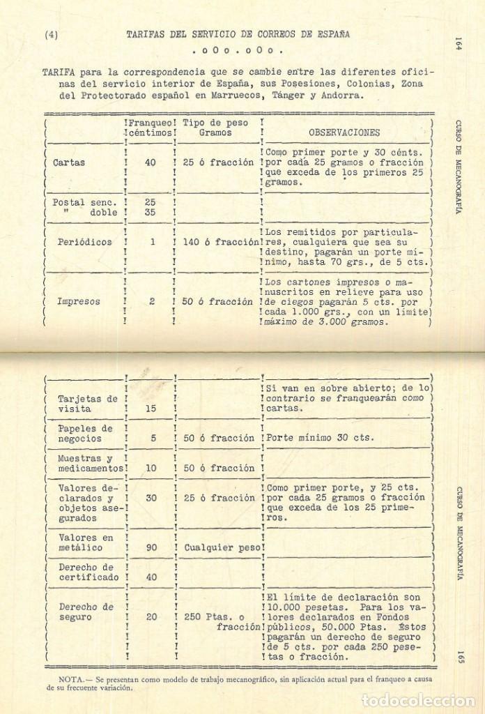 Libros antiguos: CURSO DE MECANOGRAFÍA. (KUHNEL PORTA, Javier). - Foto 10 - 192231065