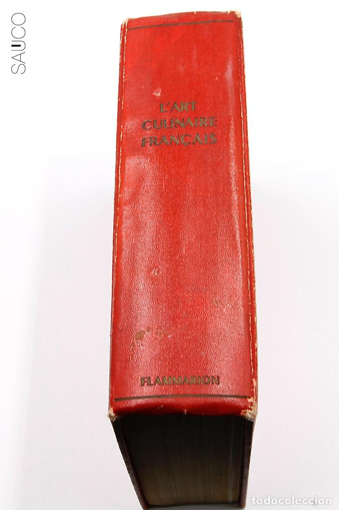 LIBRO DE COCINA L'ART CULINAIRE FRACAIS (Libros Antiguos, Raros y Curiosos - Cocina y Gastronomía)