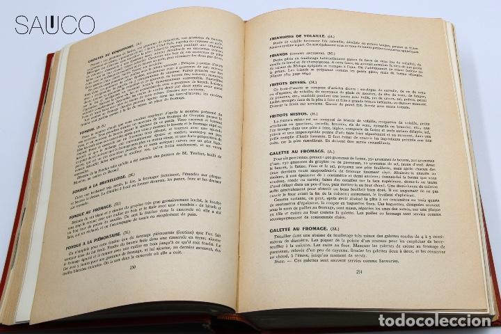 Libros antiguos: LIBRO DE COCINA LART CULINAIRE FRACAIS - Foto 5 - 193791492
