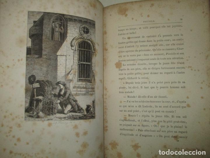 Libros antiguos: PICCIOLA. SAINTINE, X.B. c.1890. - Foto 5 - 193799433