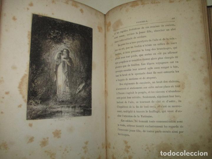 Libros antiguos: PICCIOLA. SAINTINE, X.B. c.1890. - Foto 6 - 193799433