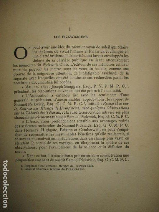 Libros antiguos: MR. PICKWICK. DICKENS, Charles. c.1920. - Foto 4 - 193801352