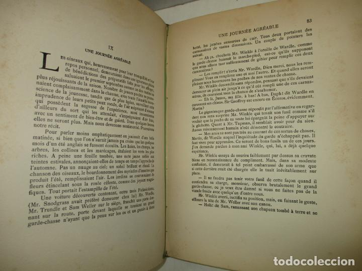 Libros antiguos: MR. PICKWICK. DICKENS, Charles. c.1920. - Foto 7 - 193801352