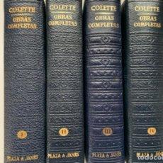 Libros antiguos: OBRA COMPLETA DE COLETTE. Lote 193815400